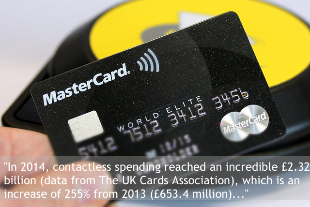 Contactless Payments Treble in The UK - It's Here's To Stay!